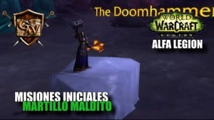 Artefacto Chamán Mejora - Martillo Maldito - Alfa Legion