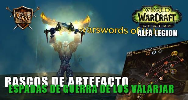 espadas de guerra de los valarjar