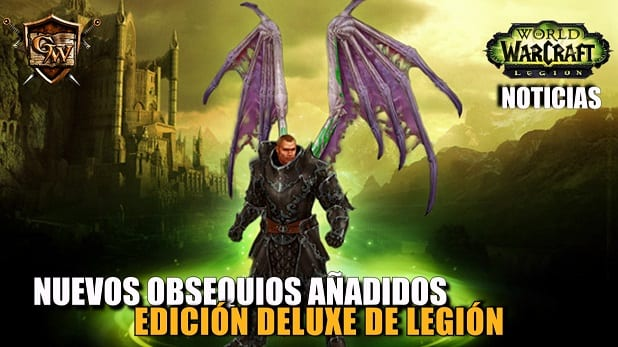 Nuevos obsequios a adidos a la edici n deluxe de world of for Cocina wow legion