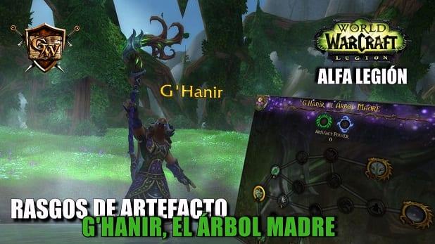 G'Hanir, El Árbol Madre - Conoce sus rasgos - Alfa Legión