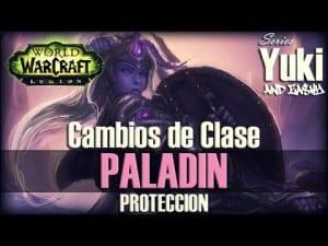 Yuki comentando Paladín Protección