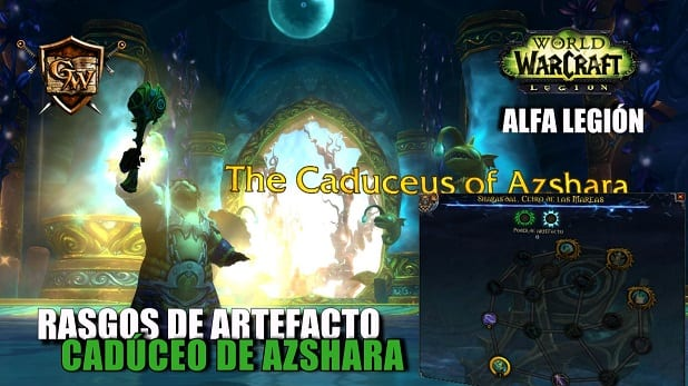 Cadúceo de Azshara - Conoce sus rasgos - Alfa Legion