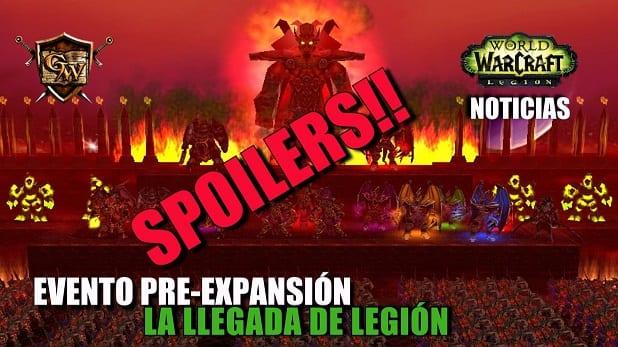 Evento Pre-Expansión de Legión: El fin se acerca