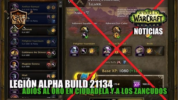 Legi n alpha build 21134 adi s al oro en ciudadela y a for Cocina wow legion