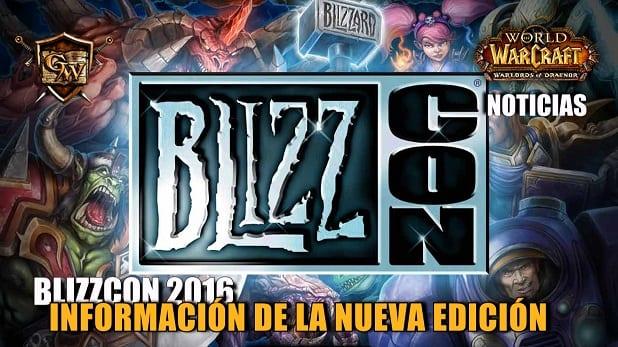 Ya están disponibles las nuevas fechas para Blizzcon 2016