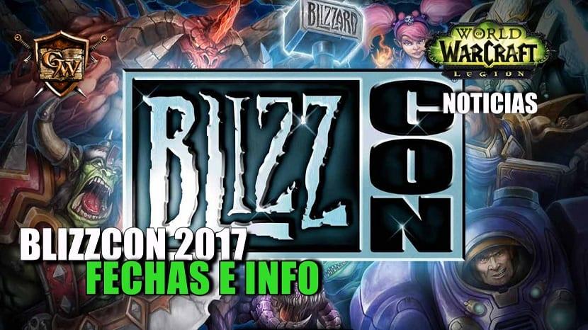 Ya están disponibles las nuevas fechas para Blizzcon 2017