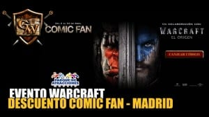 Promoción Comic Fan Warcraft