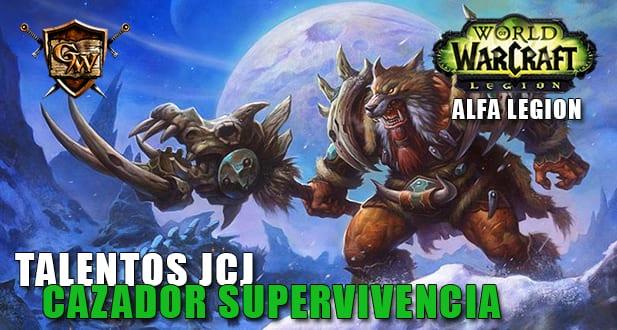 TALENTOS JCJ DEL CAZADOR SUPERVIVENCIA