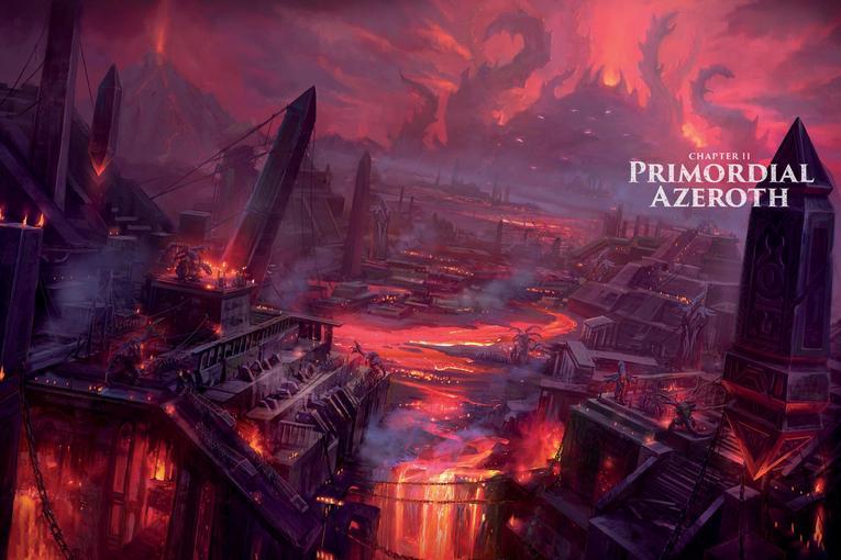 World of Warcraft Chronicle parte 1 azeroth primitivo cap 2