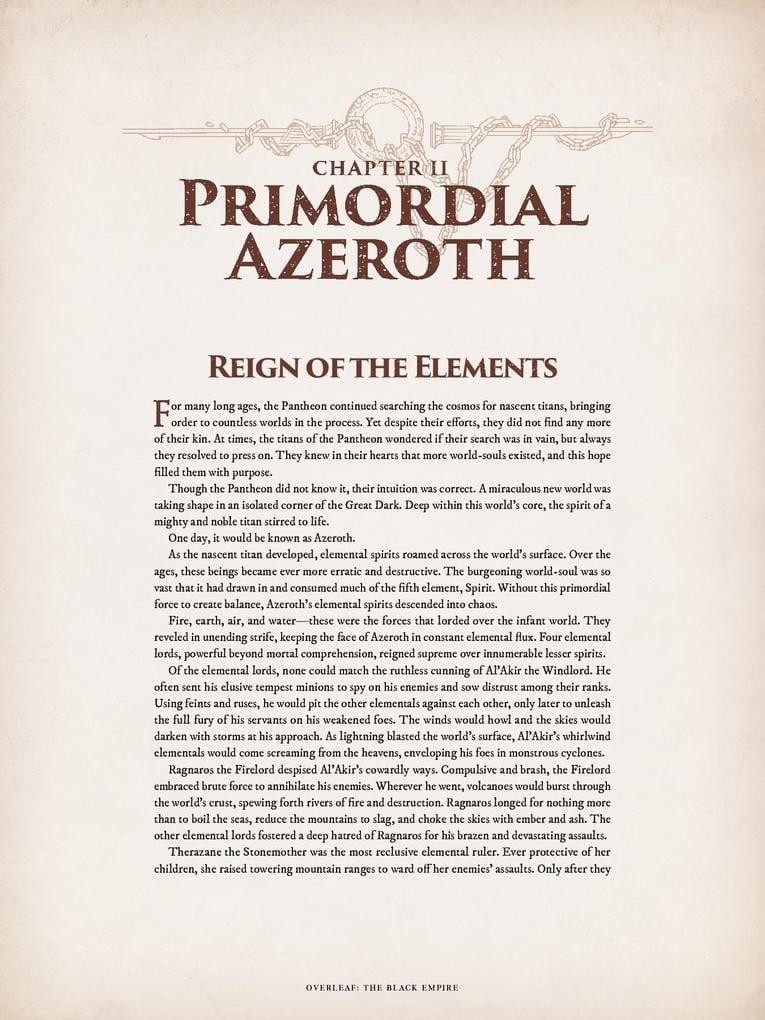 World of Warcraft Chronicle parte 1 cap 2