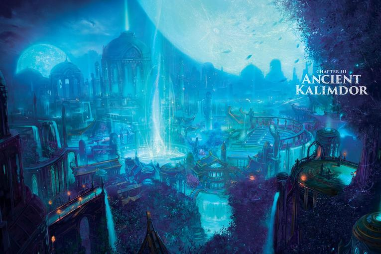World of Warcraft Chronicle parte 1 cap 3 antiguo kalimdor