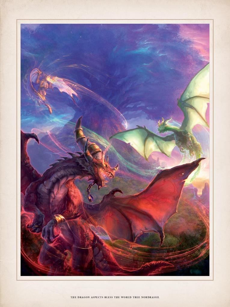 World of Warcraft Chronicle parte 1 dragones aspecto