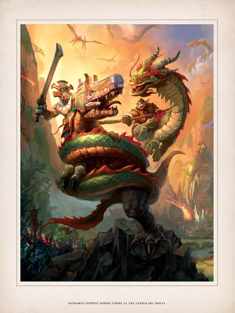 World of Warcraft Chronicle parte 1 pandaren