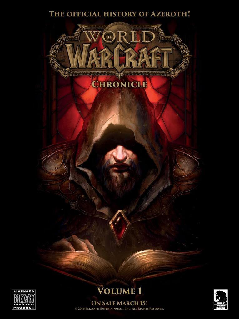 World of Warcraft Chronicle volumen 1 portada