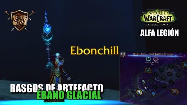 Ébano Glacial - Conoce sus rasgos - Alfa Legión