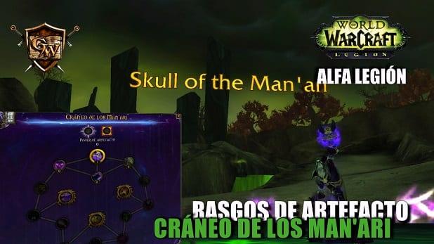 Cráneo de los Man'ari - Conoce sus rasgos - Alfa Legion