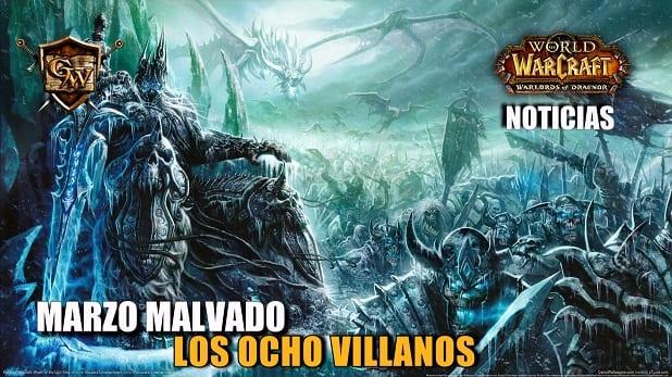 Los Ocho villanos del Marzo malvado