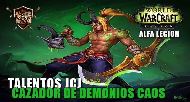 talentos jcj del cazador de demonios caos