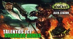 talentos jcj del guerrero armas