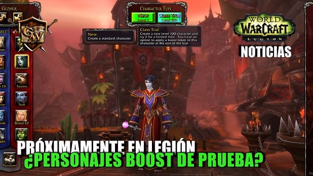 World of warcraft legi n podr a tener personajes boost de for Cocina wow legion
