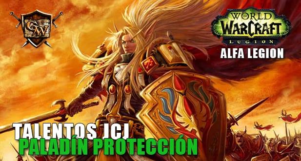 talentos jcj del paladín protección alfa legion
