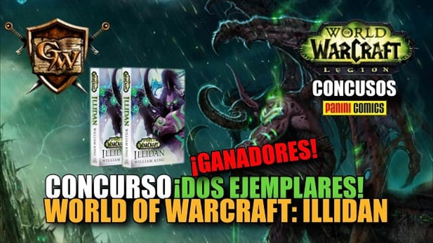 ganadores del concurso world of warcraft illidan