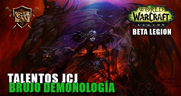talentos jcj del brujo demonología beta legion