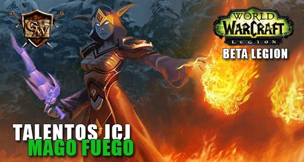 talentos jcj del mago fuego beta legion