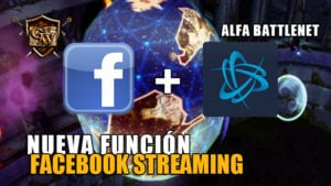 facebook streaming alfa battlenet