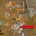 Fragmento de cristal mapa misiones de joyería en legion