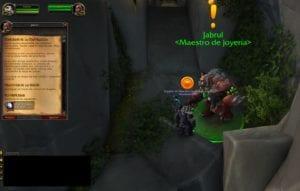Misterios de la naturaleza misiones de joyería en Legion