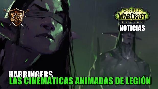 Harbingers: las cinemáticas animadas de Legión