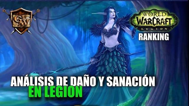 ANALISIS DE DAÑO Y SANACIÓN EN LEGION