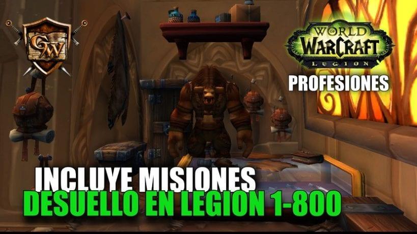 Desuello en Legion