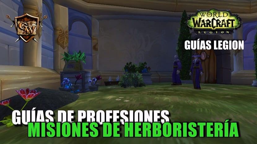 Misiones de Herboristería en Legion
