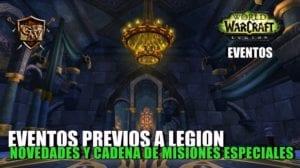 eventos previos legion