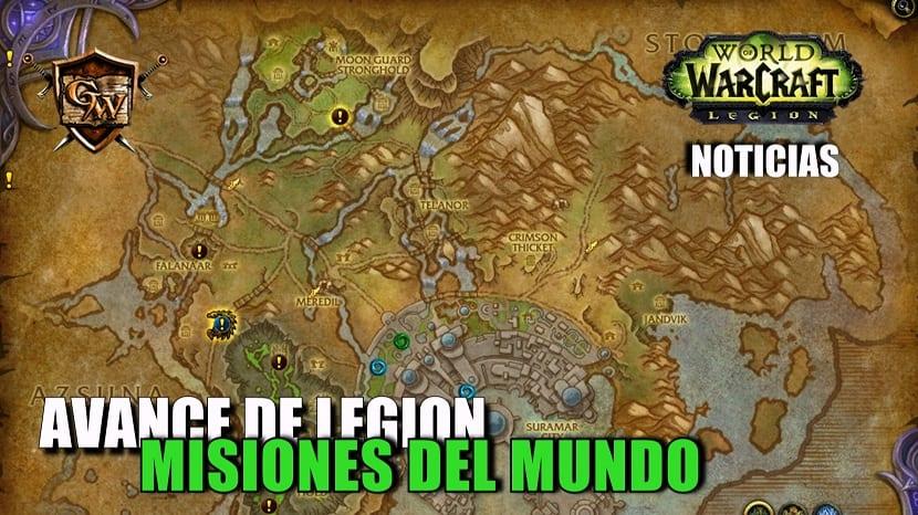 Avance de Legion: Misiones del mundo