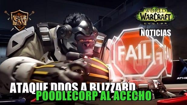 PoodleCorp ataca los servidores de Blizzard