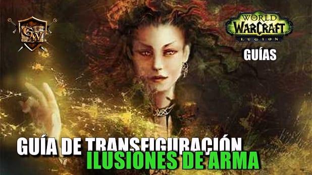 Guía de ilusiones de arma para transfigurar