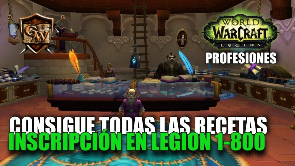 Gu a de inscripci n en legion inscripci n gu as wow for Cocina wow legion