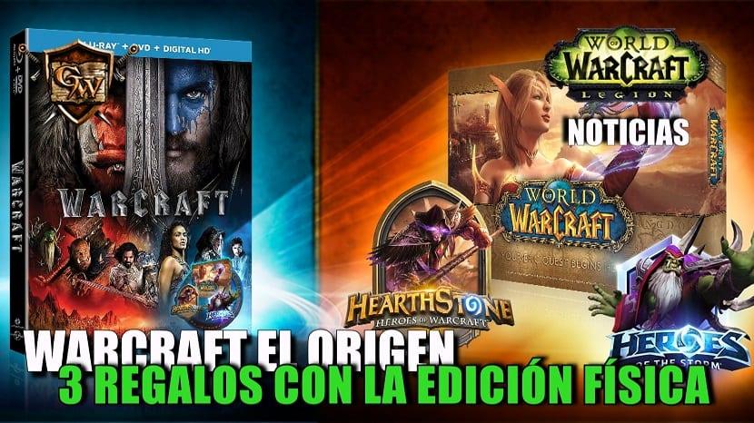 La edición física de la película Warcraft: El origen contará con 3 regalos digitales