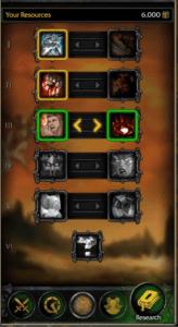 aplicación móvil warcraft