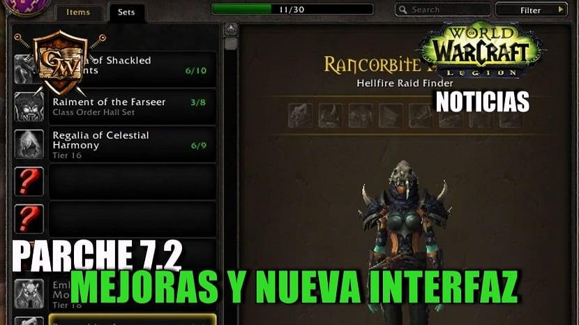 Mejoras y nueva interfaz - Parche 7.2
