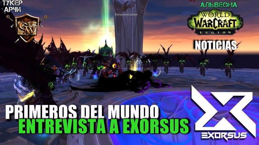 Primeros del mundo en Bastión Nocturno: Entrevista a Exorsus