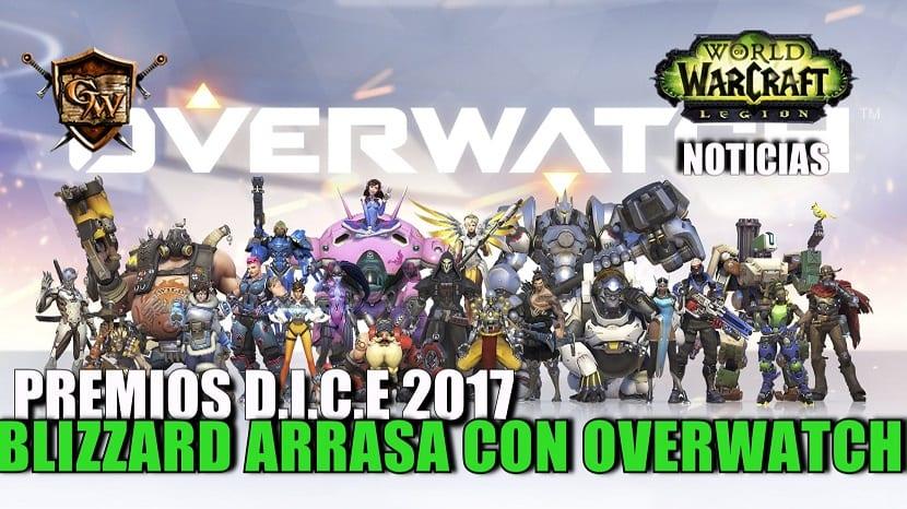 Blizzard gana el premio Juego del Año 2016 con Overwatch