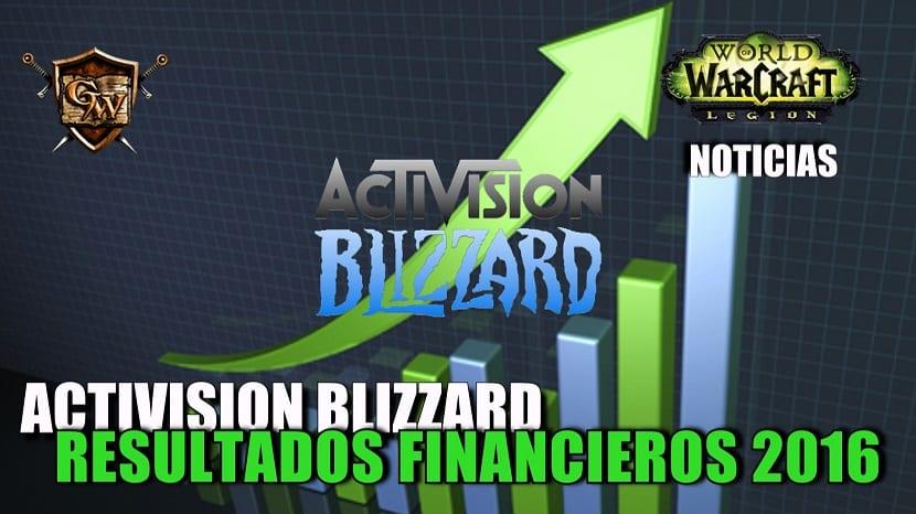 Resultados financieros de Activision Blizzard en 2016