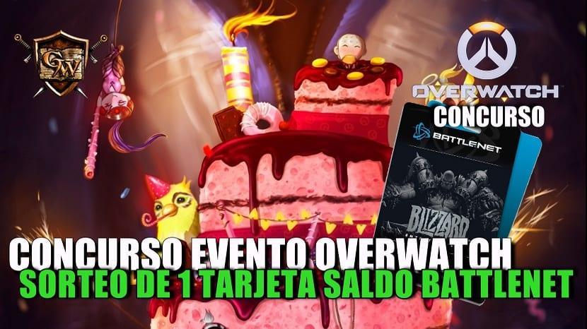Concurso evento Overwatch : ¡Gana 1 tarjeta saldo de 20 € para Battlenet!