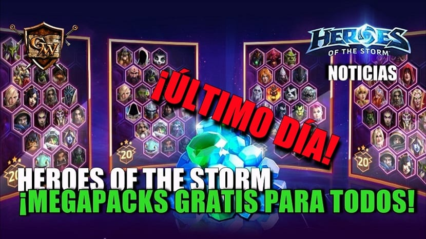 Heroes of the Storm: ¡Megapacks gratis para todos!