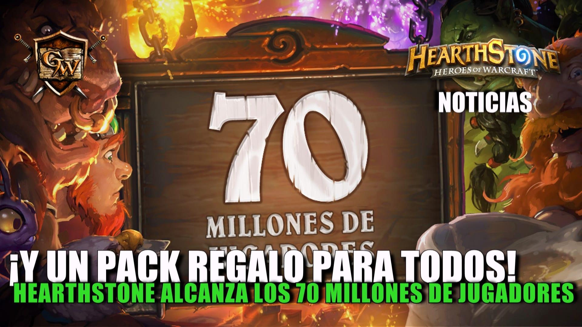 Hearthstone alcanza la cifra de 70 millones de jugadores