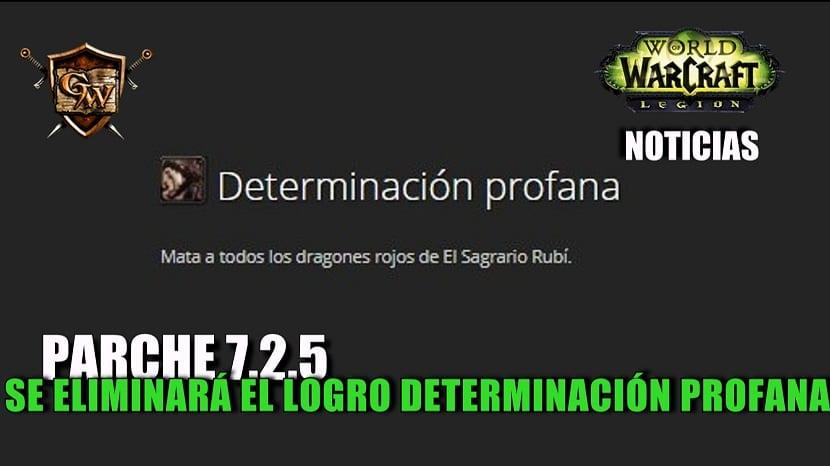 Determinación profana será eliminado en el parche 7.2.5